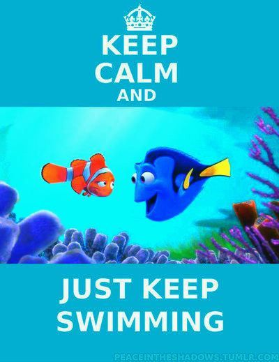 Dory  Just keep swimming - Ellen DeGeneresDory Just Keep Swimming