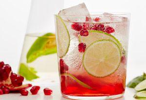 Pomegranate Margaritas with Habanero Tequila Recipe