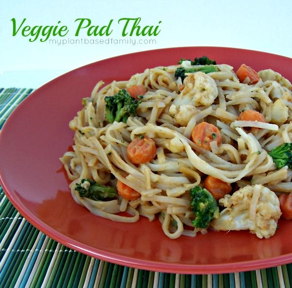 Quick and Easy Veggie Pad Thai | Food and Drink...Yum! | Pinterest
