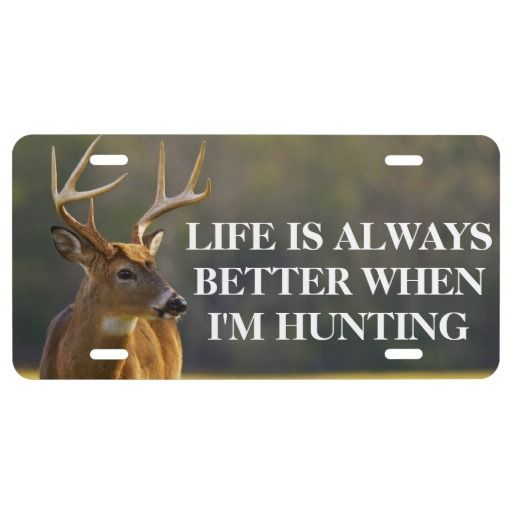 Funny life is always better hunting whitetail buck for Nc hunting and fishing license