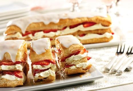 Strawberry Napoleons   Recipe