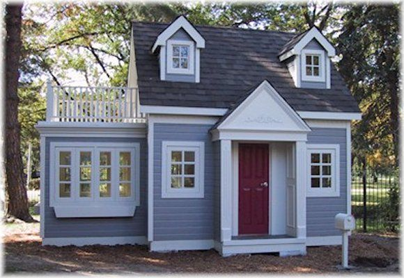 two story playhouse backyard playhouses and cottages