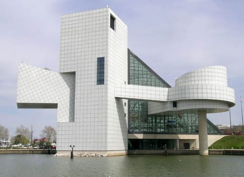 I.M.Pei - Rock n Roll Hall of Fame