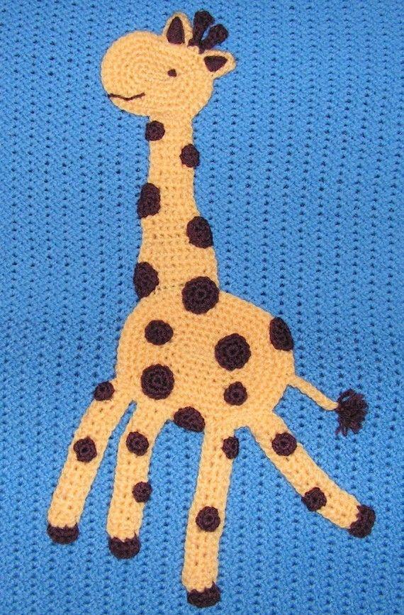 Free Crochet Pattern Giraffe Blanket : Giraffe Nursery Crochet: Free amigurumi giraffe pattern ...