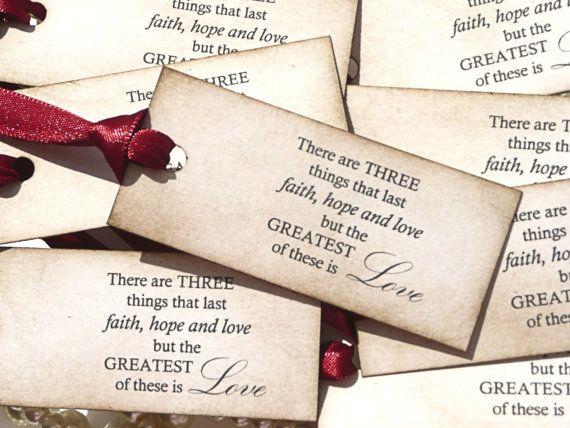 Cute Wedding Favor Tag Sayings : Wedding Favors