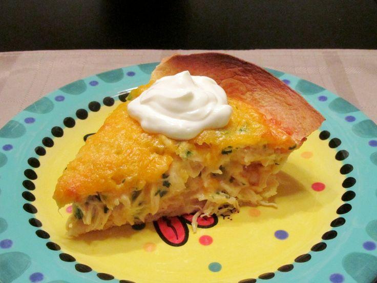 Cheesy Chicken Quesadilla Pie | Pies, Tarts, Quiches & Souffle's | Pi...