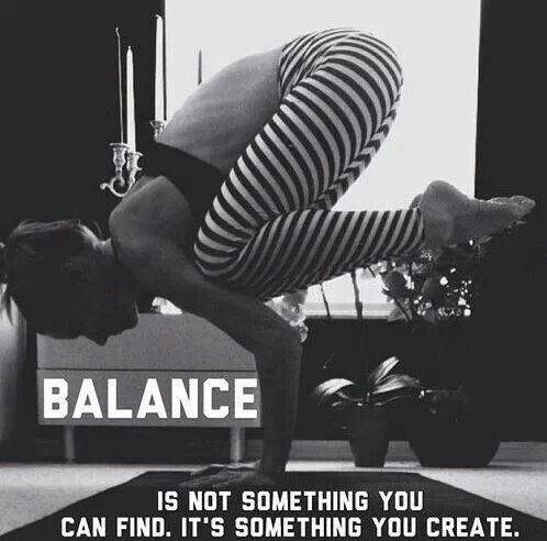 balance yoga quotes on quotesgram