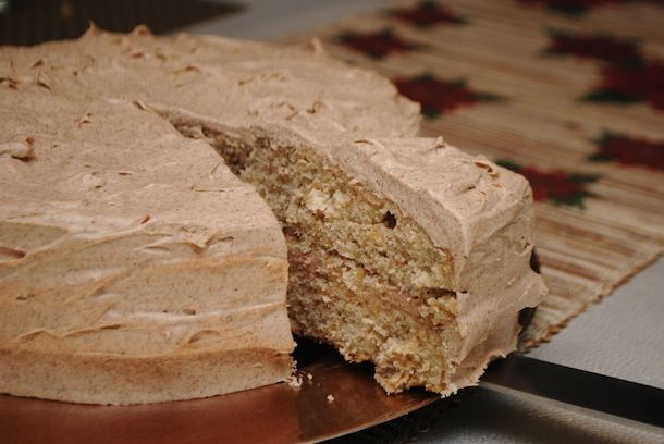 Walnut Layer Cake with Orange Spice Cream Cheese Frosting - Always ...