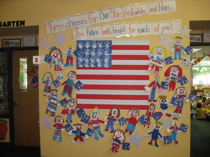 flag day bulletin board ideas