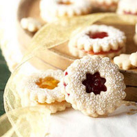 Raspberry Sugar Cookie Sandwiches | Cookies! | Pinterest