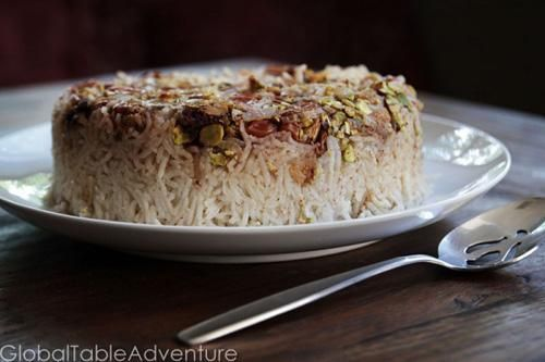 Persian Sour Cherry Rice | Made Just Right by Earth Balance #vegan # ...