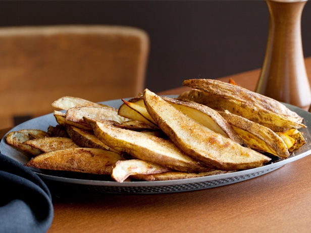 Oven Roasted Potato 'Fries' from CookingChannelTV.com - January 3 201...