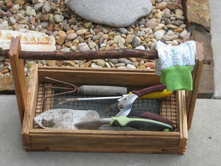Pin by heather mccarn on gardening pinterest for Gardening tools gift basket
