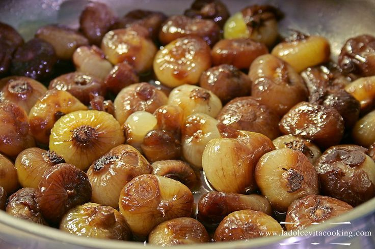 braised-onions | Foods I want to eat now! | Pinterest