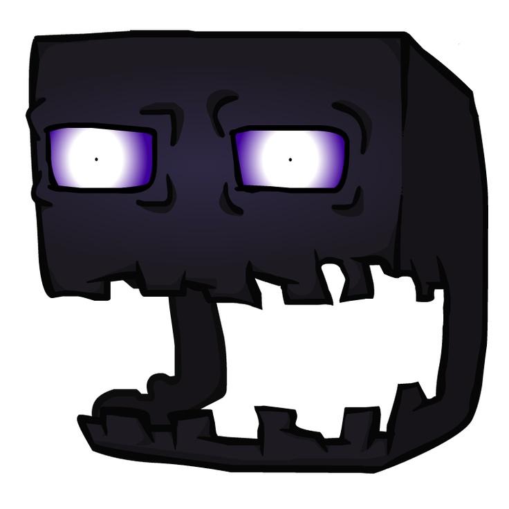 Minecraft Enderman Head | My Board From Vapor | Pinterest