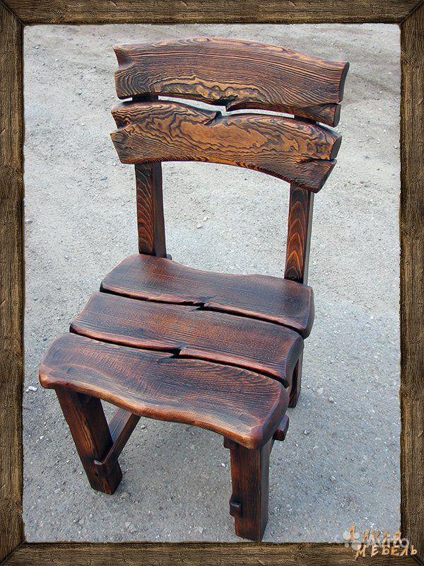 Деревянные стул под старину своими руками 41
