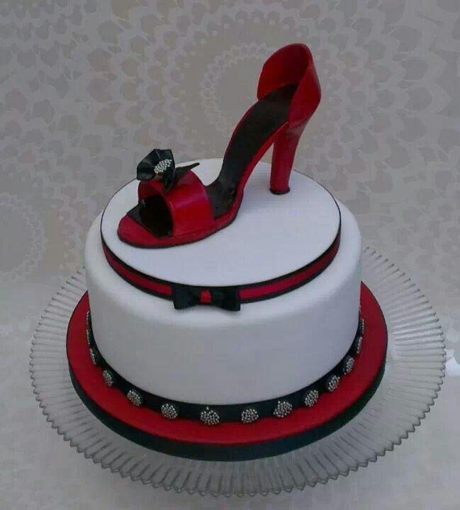 high heel shoe cake cakes 2