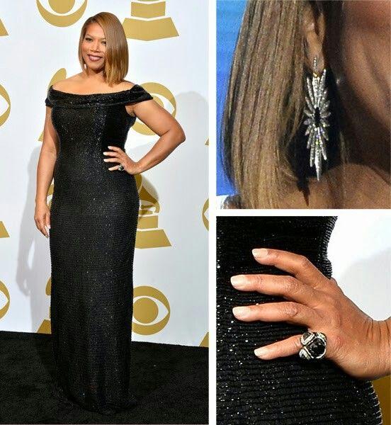 Queen Latifah at the Grammys 2014Queen Latifah 2014 Grammys