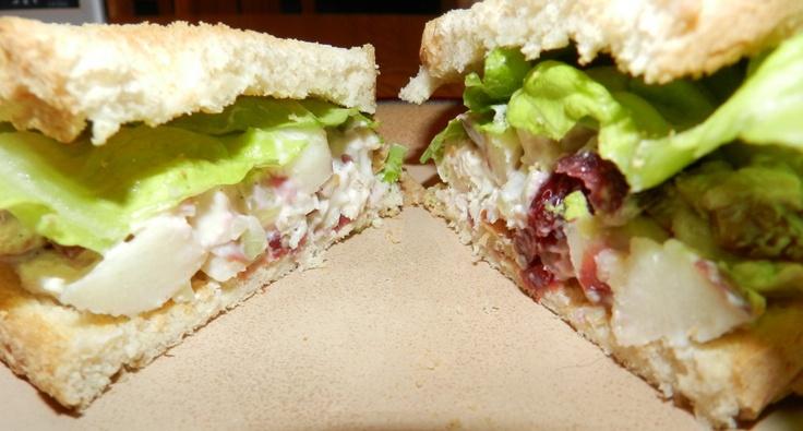 Skinny Chicken Waldorf Salad via Momma's Meals