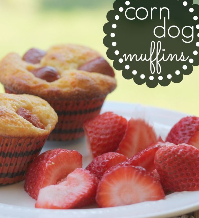 Corn Dog Muffins - 6 ingredients and a great way to skip dinner at the ...