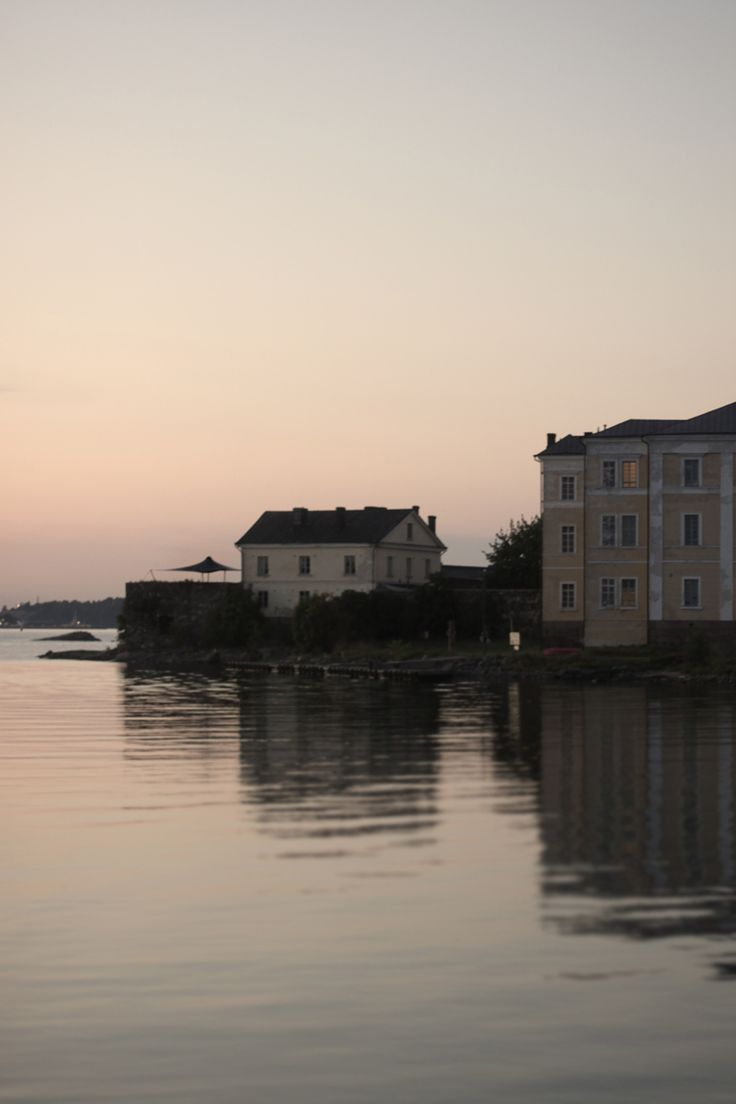 Suomenlinna, sunset, sunrise, Helsinki, fortress, scenery
