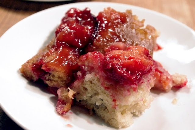 Amaretto-Plum Upside-Down Cake | Food - Desserts | Pinterest