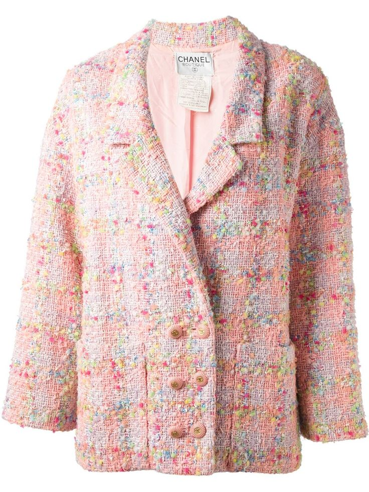 Chanel Vintage Boucle Box Jacket