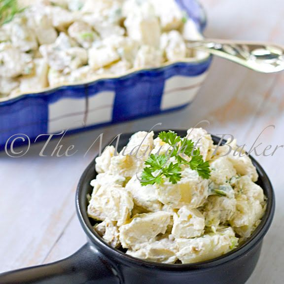Herbed Potato Salad with Pesto Aoli
