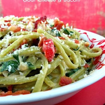 spinach linguine--made it and quite good | Recipes and Food | Pintere ...