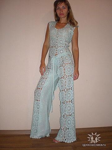 Crochet Jumpsuit : Crochet Jumpsuit Yarn Creations Pinterest