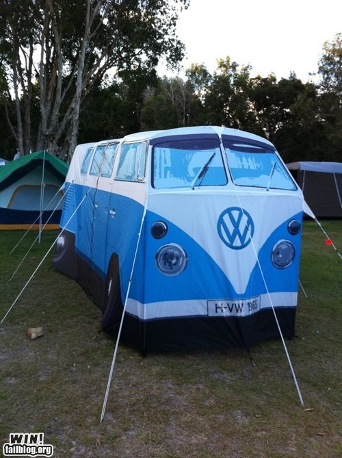 Tent? Camping? Yes!