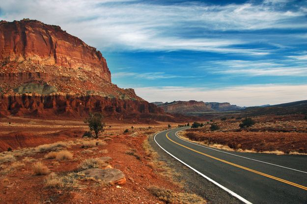 the 20 most scenic drives in america. Black Bedroom Furniture Sets. Home Design Ideas