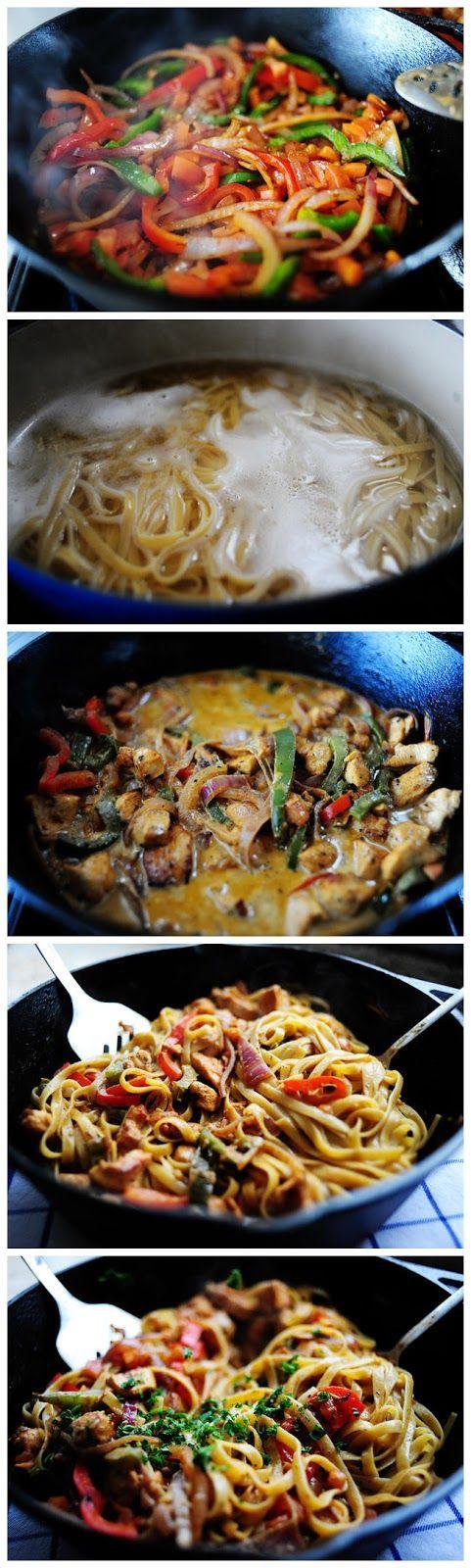 Cajun Chicken Pasta   Chicken recipes   Pinterest