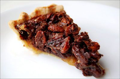 CHOCOLATE PECAN PIE: Bittersweet chocolate is combined with the ...
