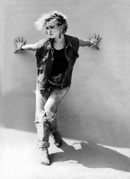 Madonna 80s Fashion Anos 80 Pinterest