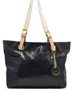 valentina black leather purse