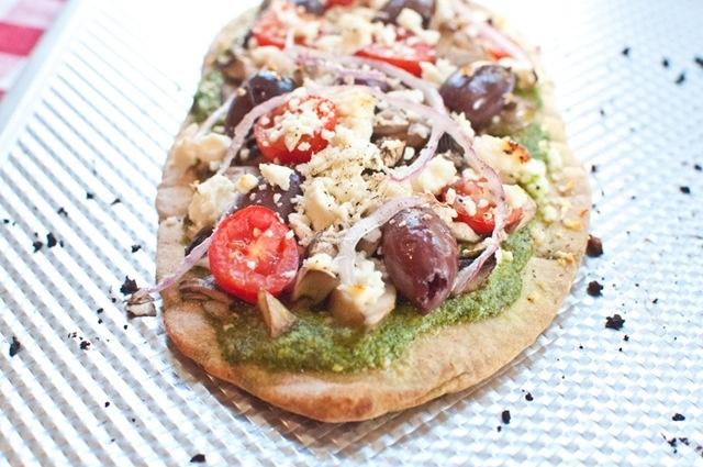 Greek pita pizza | eats. | Pinterest