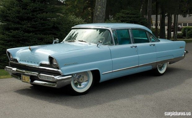 1956 lincoln premiere four door sedan vintage and
