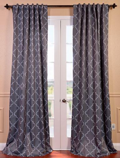 long blackout curtains | New Bedroom | Pinterest