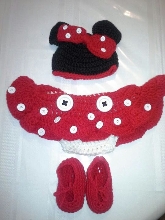 Crochet Pattern For Baby Mermaid Costume : minnie mouse crochet outfit Car Tuning