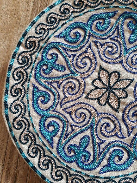 Вышивка казахский орнамент 62