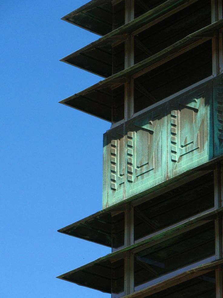 Price tower frank lloyd wright price tower by frank for Frank lloyd wright bartlesville