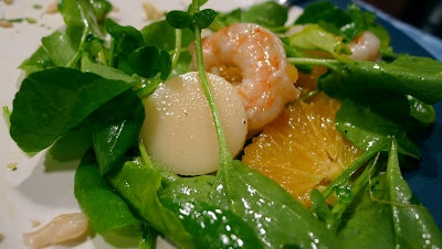 shrimp and hearts of palm salad | Love and Beer Floats | Pinterest