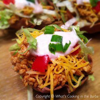 Mini Salsa Taco Salads | WW Main Course | Pinterest
