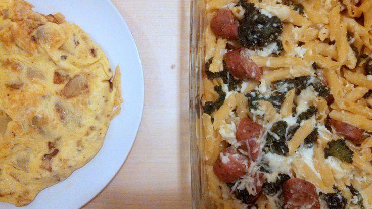 Sausage And Kale Pasta Bake Recipe — Dishmaps