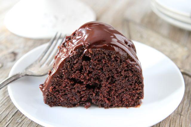 Chocolate Sour Cream Bundt Cake Recipe from www.twopeasandtheirpod.com