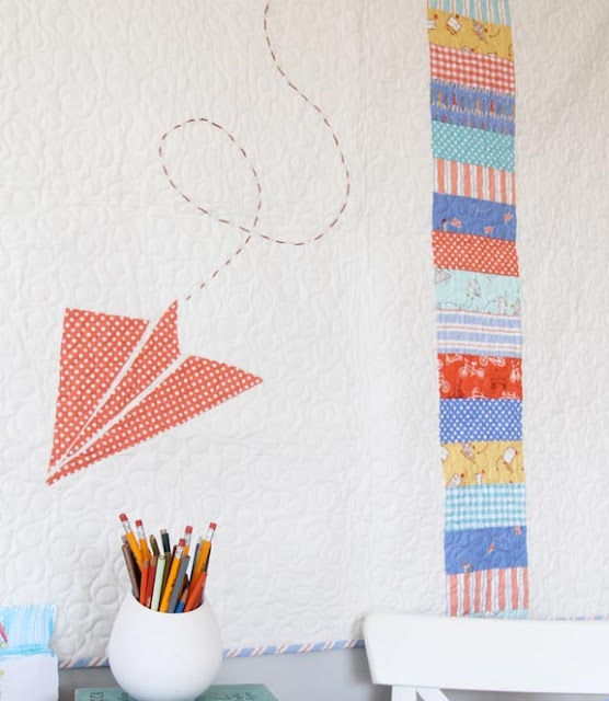 airplane quilt (free template, too)!