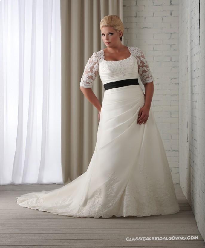 Get beautiful bonny unforgettable 1209 plus size wedding for Cheap beautiful wedding dresses for sale
