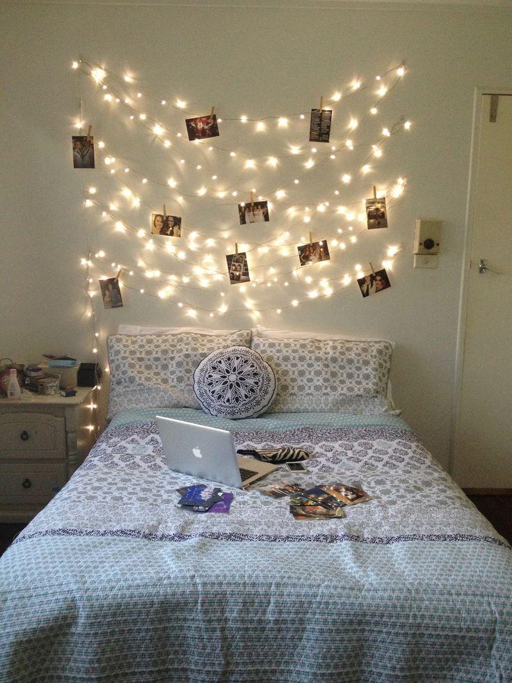 lights Dorm Room Ideas Pinterest