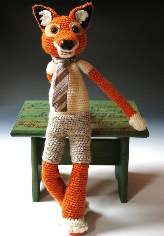 Crochet fox. Oh gosh Rose, we HAVE to find this pattern. This is just ...